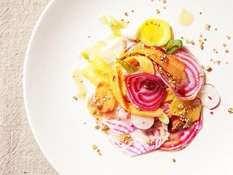 Gekleurde bieten salade gimsel natuurlijk beter - Maak een dressing ...